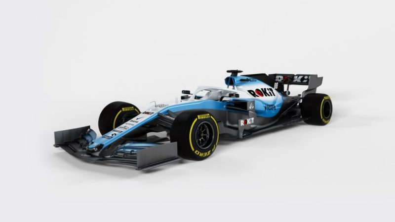 F1 equipa Williams carro de 2019