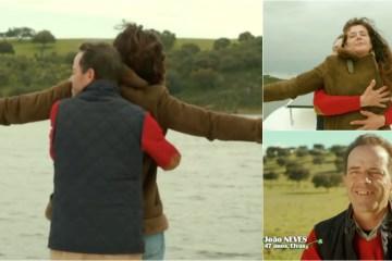 Quem Quer Namorar com o Agricultor - Casal recria cena do Titanic