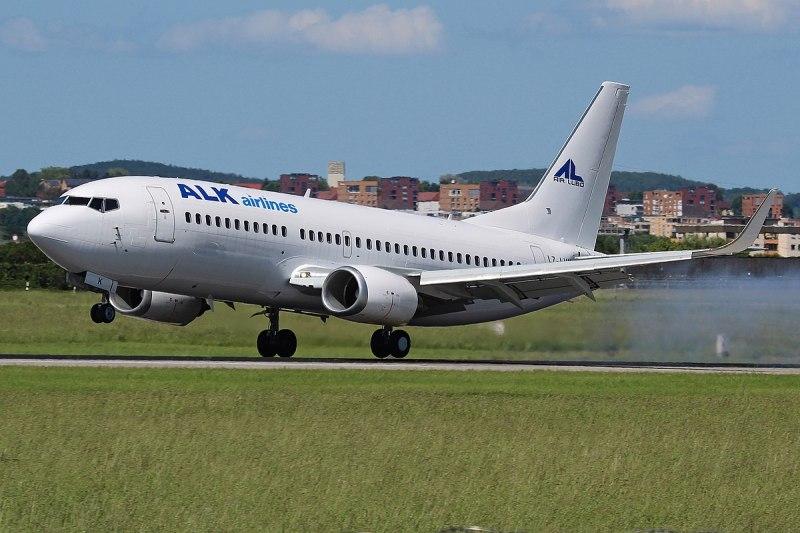 ALK Airlines - Turbulência avião