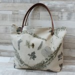 Bolso bag shopping hecho mano españa tela piel seda rustica ecoprint macarena marquez estampado natural taller confeccion slow Lolahn Handmade 5 madrid