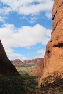 The Olgas Kata Tjuta - The valley of the winds