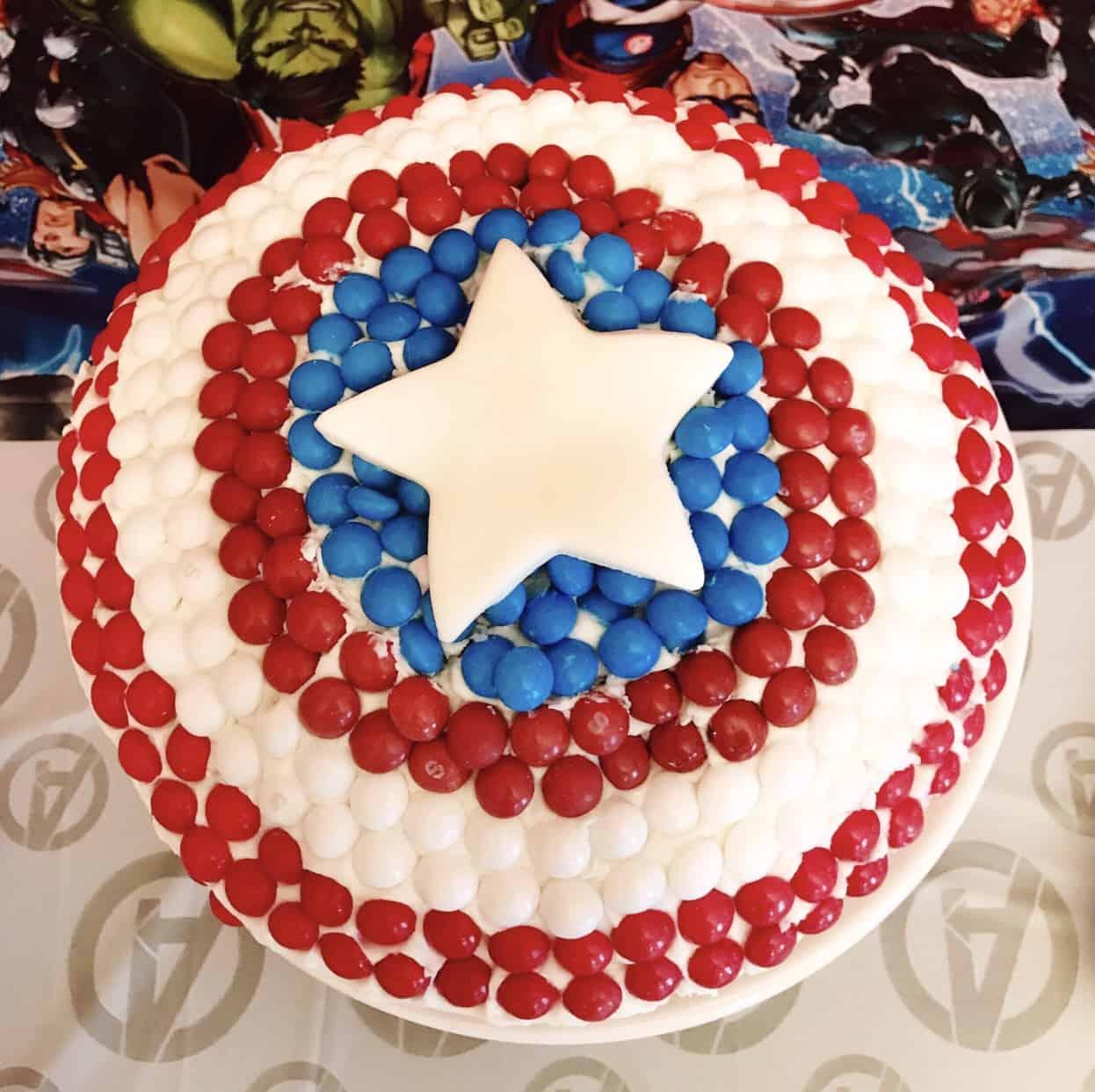 Captain America Cake And Why I M Team Cap