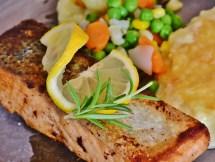 Pescado alimento esencial en la menopausia.