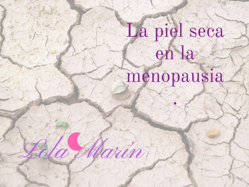 Piel seca en la menopausia