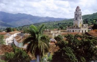 L - Cuba - Trinidad de Cuba panorama