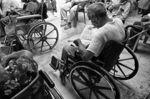 Very few elderly Guatemalans are literate