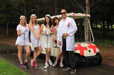 "Dr. Ryan LaPalm & the Emerg Staff - gotta love that ""ambulance"""
