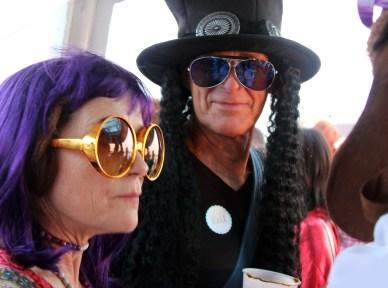 Slash aka Bill Saunders with Donna Saunders