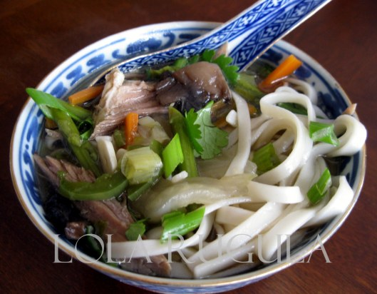 homemade udon noodle soup recipe