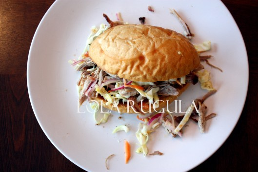 oven roasted pulled pork oil and vinegar slaw recipe