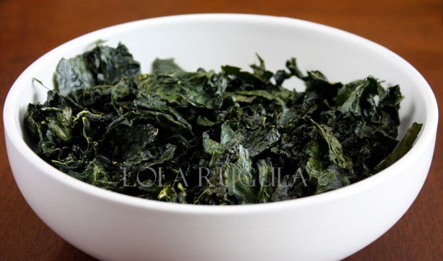 How to make kale chips recipe