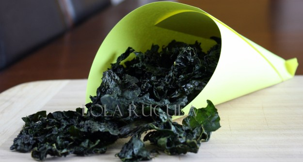 how to make your own kale chips recipe