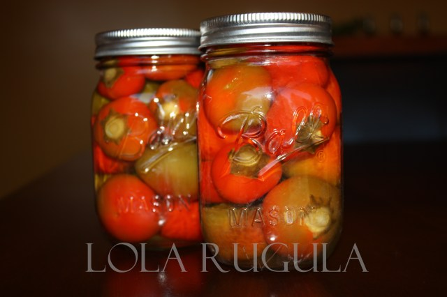 how to can hot cherry peppers lola rugula