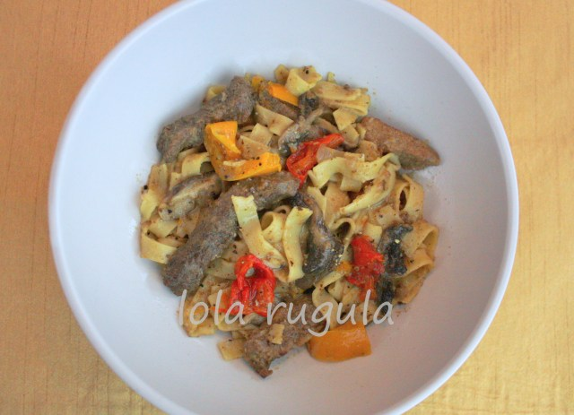 lola rugula beef tips and noodles recipe