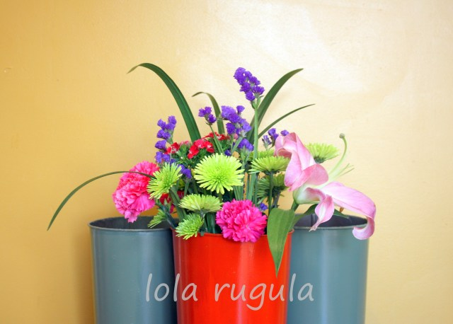 lola rugula french flower pot makeover