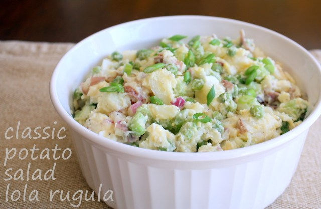 lola rugula classic potato salad recipe