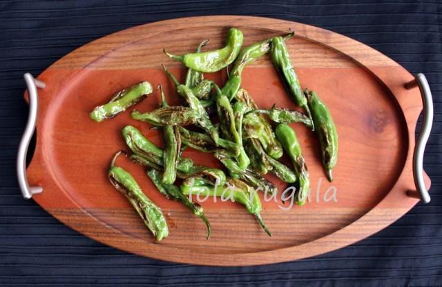 lola rugula charred shishito peppers (2)
