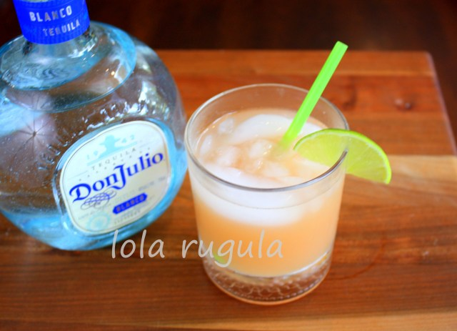 lola rugula tequila and ruby red grapefruit cocktail