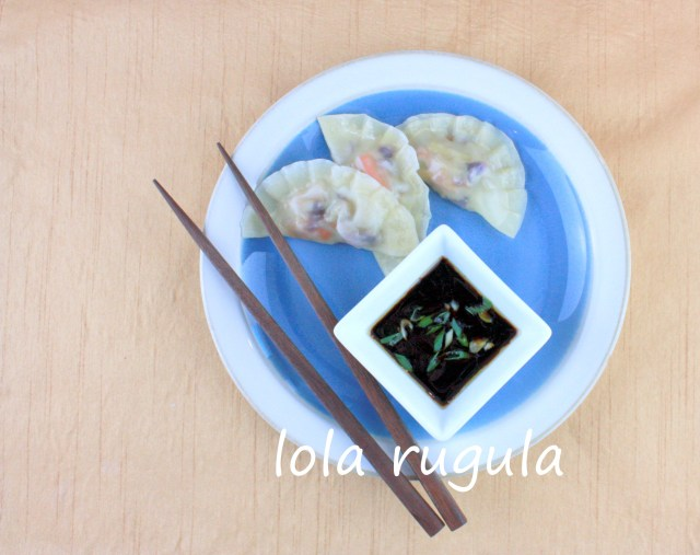 lola rugula homemade vegetable dumplings
