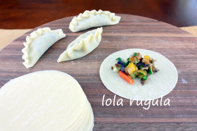 lola rugula how to make vegetable dumplings