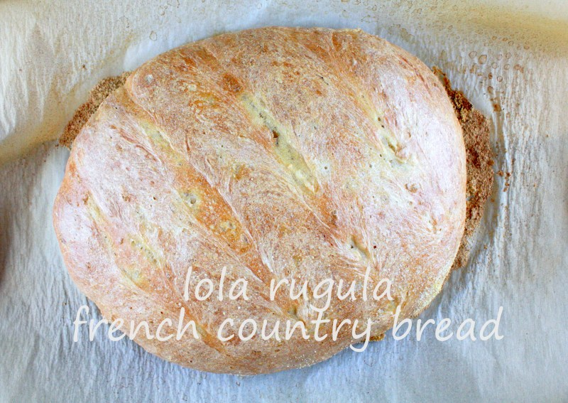 lola rugula french country bread