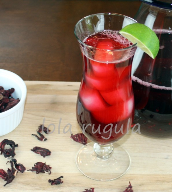 Homemade Hibiscus Tea Lola Rugula