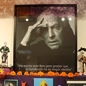 Un altar para Eduardo Galeano