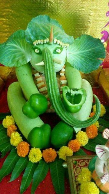 vegetable ganesha