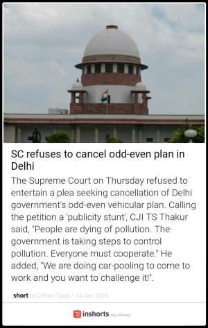 odd even plan to stay in delhi