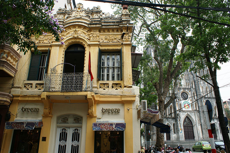 Vietnam - Hanoi - Where the Old meets Colonial
