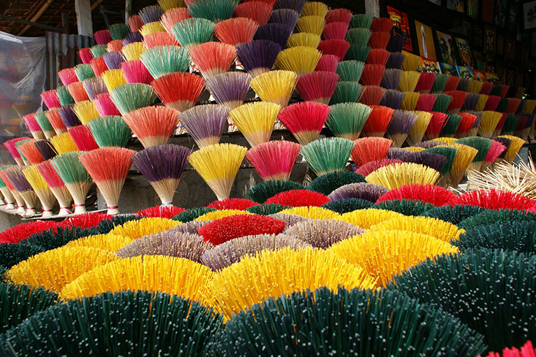 Vietnam - Colorful Incense