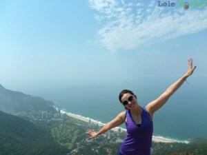 Praia de São Conrado, uhu!!!