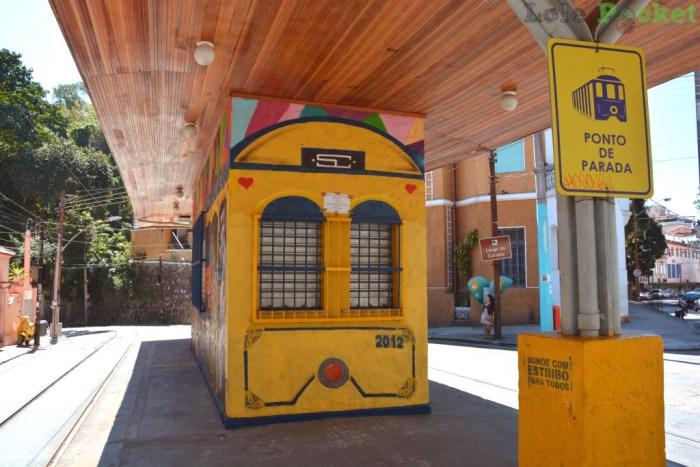 Largo do Curvelo - Ponto do Bondinho - Santa Teresa - Rio de Janeiro
