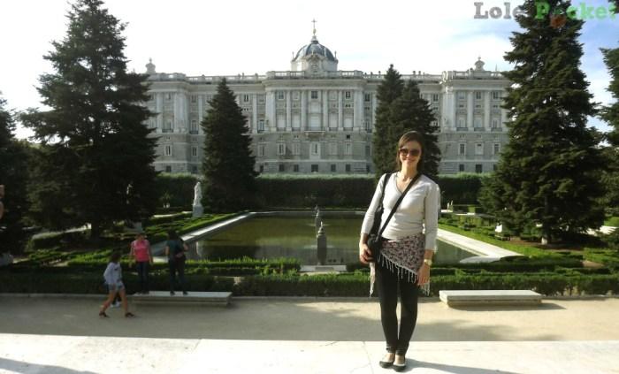 Jardins de Sabatini - Madri