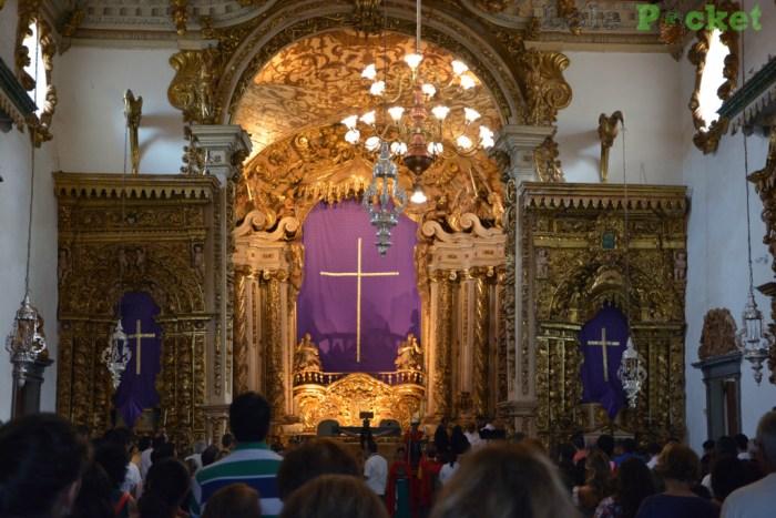 Interior Igreja Matriz de Santo Antônio