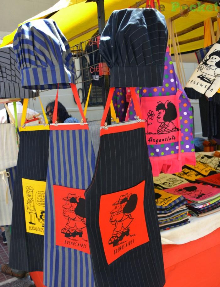 Aventais da Mafalda - Feira de San Telmo - Buenos Aires