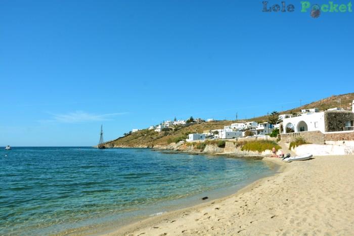 Free sand - Ornos - Mykonos