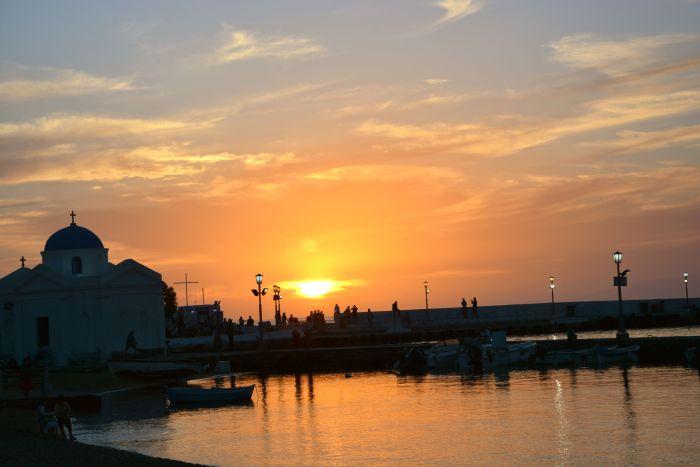 Pôr do Sol - Old Port - Mykonos