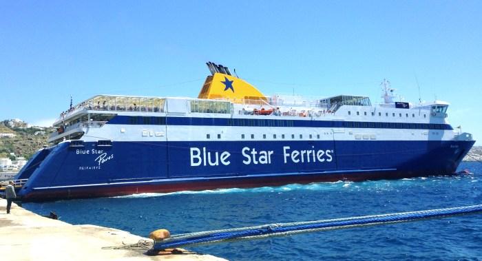Blue Star Ferries - Barco Rápido
