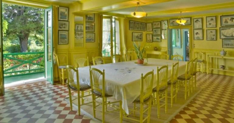 Sala de Jantar - Giverny - Divulgação Fondation Monet