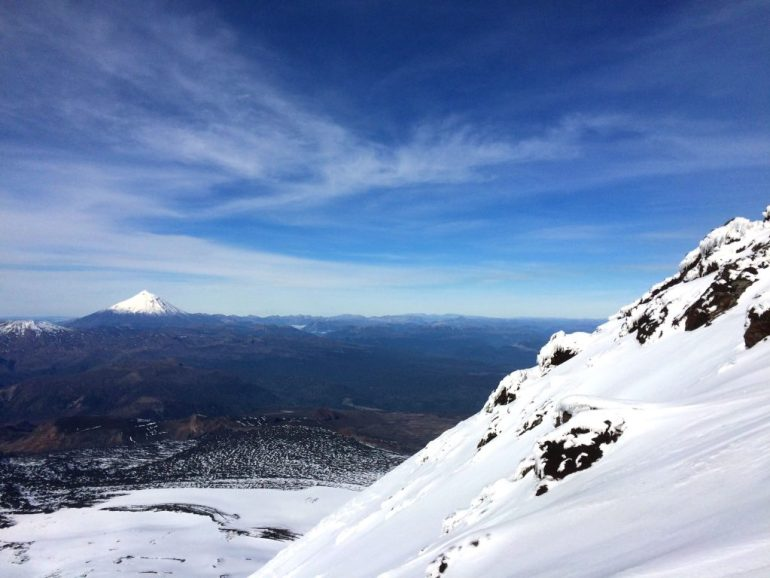 Vulcão visto de outro vulcão - Vulcão Villarica