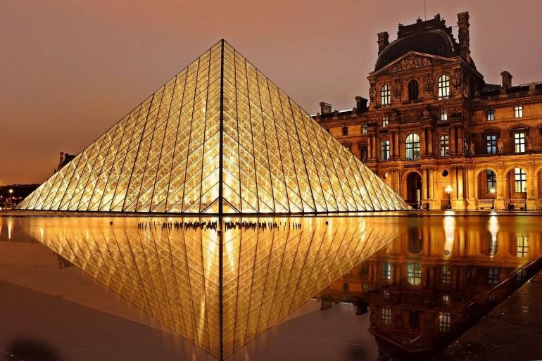 De graça no Museu do Louvre