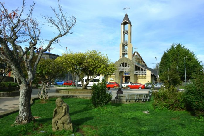 Chiloé - Plaza de Armas de Ancud