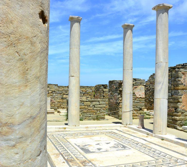 Ilha de Delos - Casa de Dionísio