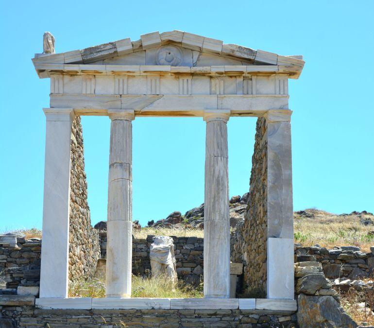 Ilha de Delos - Templo de Isis