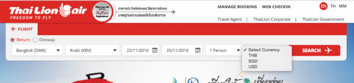 Passagens Low Cost Tailândia - Passo 1.1
