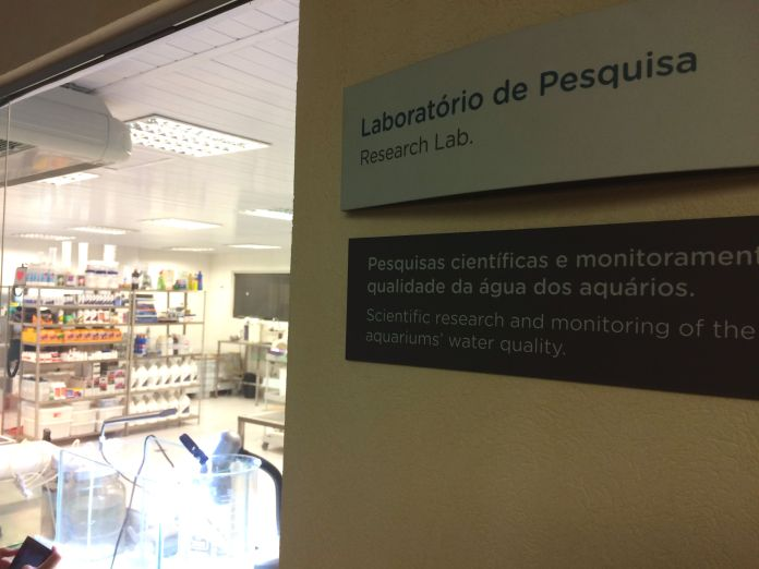 AquaRio - Laboratório