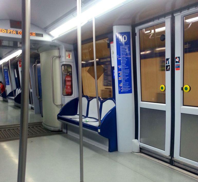 Metrô de Madri - Por dentro