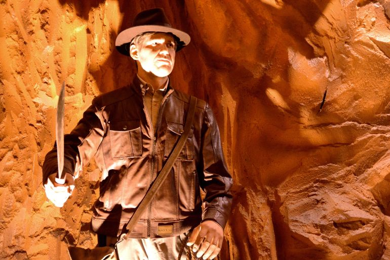 Museu de Cera Gramado - Indiana Jones