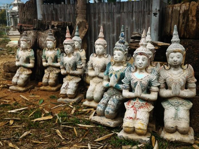 Tailândia - Comportamento - wai